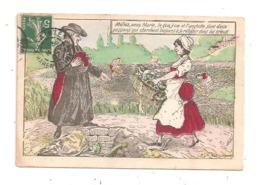 Femme De Ménage - Curé- E.J.R.Paris  -(D.3380) - Autres Illustrateurs