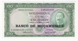 Mozambique - Billet De 100 Escudos - 27 Mars 1961 - Neuf - Aires De Ornelas - Mozambique