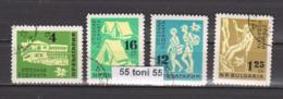 1961 Tourism -   Scouts  Mi-1250/53 1v.-used(O) Bulgaria/Bulgarie - Vacaciones & Turismo