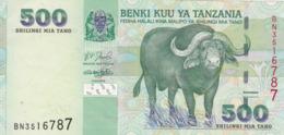 Tanzanie - Billet De 500 Shilingi - Non Daté - Presque Neuf - Tanzania