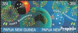 Papouasie-nouvelle-guinée 572-573 Couple (complète.Edition.) Neuf Avec Gomme Originale 1988 Australie - Papua Nuova Guinea