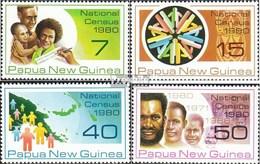 Papouasie-nouvelle-guinée 390-393 (complète.Edition.) Neuf Avec Gomme Originale 1980 Recensement De La Population - Papua Nuova Guinea