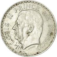 Monnaie, Monaco, Louis II, 5 Francs, 1945, TB+, Aluminium, KM:122 - Mónaco