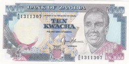 Zambie - Billet De 10 Kwacha - Neuf - Sambia