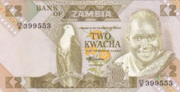 Zambie - Billet De 2 Kwacha - Neuf - Zambia