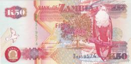 Zambie - Billet De 50 Kwacha - 1992 - Neuf - Sambia