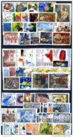 ITALIA REPUBBLICA -LOTTO 1000 FRANCOBOLLI USATI DAL 2001 AL 2010  PERFETTI AFFARONE CIRCA 100 AD ANNATA - 6. 1946-.. Repubblica