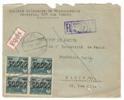 24144 - Bloc De  4 TP Surchargés - 1919-1939 République