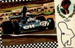 CIRCUIT DE MONTJUICH..TIM SCHEKEN  AUSTRALIE....CPM - Grand Prix / F1