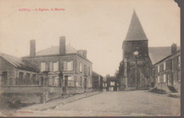 VONCQ - L EGLISE ET LA MAIRIE - France
