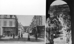 23.2 CP. CHAMBON SUR VOUEIZE.  Place De L'église, Commerces, Dont Maggi, Un Coin De La Ville. - Chambon Sur Voueize