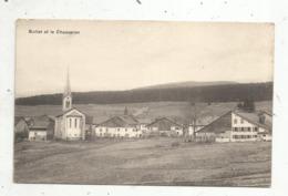 Cp, SUISSE , VD , BULLET Et Le CHASSERON , Vierge , Ed. Deriaz - VD Vaud
