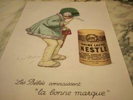 ANCIENNE PUBLICITE LES  BEBES CONNAISSENT  NESTLE  1930 - Posters