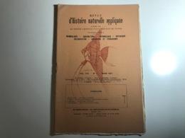Revue D' HISTOIRE NATURELLE APPLIQUÉE N°3 - Mars 1927 - Mammalogie, Botanique, Aquiculture, Aquarium, Colonisation.... - Boeken, Tijdschriften, Stripverhalen