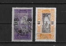 Dahomey Yv? 66 Et 69 O. - Dahomey (1899-1944)