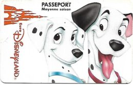 @+ Passeport EuroDisneyland Paris - Dalmatiens - Toegangsticket Disney