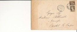 VERGATO / CASTEL DI CASIO  10-9-1932 LETTERA  PARTECIPAZIONI MATRIMONIO Imperiale 10 Cent + 5 - 1900-44 Vittorio Emanuele III