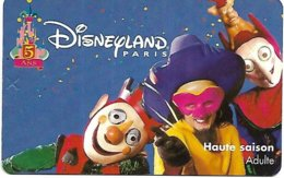 @+ Passeport Disneyland Paris - 5 Ans - Adulte - Toegangsticket Disney