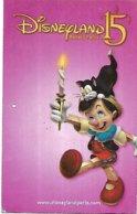 @+ Passeport Disneyland Paris - 15 Ans - Pinocchio - Toegangsticket Disney