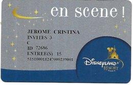 @+ Passeport Disneyland Paris - En Scene - 3 Invités - Toegangsticket Disney
