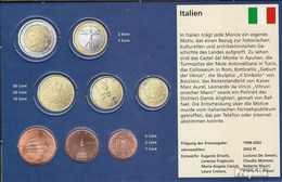 Italie I1 - 3 Stgl./unzirkuliert Mixte Années Stgl./unzirkuliert Ab 2002 Kursmünze 1, 2 Et 5 Cent - Italie