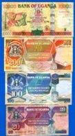Ouganda  8  Billets - Oeganda