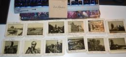 Très Rare Ancêtre De La Diapositive Lot De 12 Images Sur Les Flandres - Autres