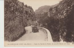 CP -  GORGES DU LOUP - LIGNE DU SUD DE LA FRANCE - LA NOUVELLE ROUTE ET LE LOUP - 218 - ANIMÉE - VOITURE - N. D. - Frankreich