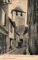 9498-2019   GRAMAT   UNE VIEILLE RUE ET LA TOUR DE L HORLOGE - Gramat