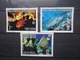 VEND BEAUX TIMBRES DE POLYNESIE N° 147 - 149 , XX !!! - Polinesia Francese