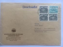 GERMANY Berlin 1955 Cover -`Naturfrejundejugen Deutschlands` To Garmisch - [5] Berlin