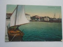 D168767 Slovenia Koper Capodistria  Il Porto Ca 1910-15 - Slovenia