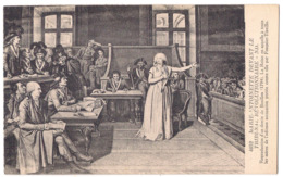 Marie-Antoinette Devant Le Tribunal Revolutionnaire /P421/ - Malerei & Gemälde