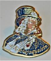 Rare Pin's Chouan Henri De La Rochejaquelein 2.5 Cm - Personnes Célèbres