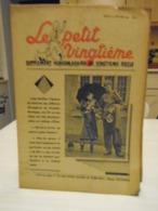 -HERGE - TINTIN - Le Petit Vingtième - N° 8 - 22 Janvier 1940 - Bon Etat - QQ Petits Défauts - Hergé