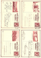 4 Cartes Postales 103: Echternach, Diekirch, Grevenmacher + Wiltz - Interi Postali
