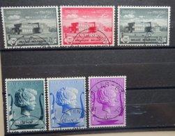 BELGIE  1940    Nr. 532 - 537    Gestempeld   CW  15,00 - Bélgica