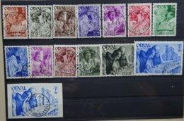 BELGIE  1941    Nr. 556 - 567 /  567 A - 568 B      Gestempeld   CW  24,50 - Belgique