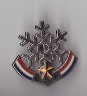 PIN'S BROCHE THEME SKI  ECOLE SKI FRANCAIS  1 ETOILE - Wintersport