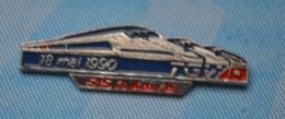 Rare Pin's TGV Atlantique Record De Vitesse 18 Mai 1990 515.3 Km/h - TGV