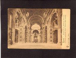 """88626     Italia,   Roma,  Basilica  Di  S. Pietro In Vaticano,  L""""interno Generale Della Chiesa,  XVI Secolo,  NV - San Pietro"""