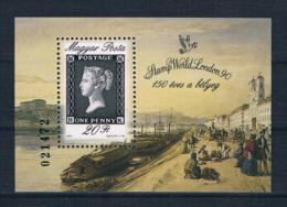 Ungarn 1990 Briefmarken Block 209A ** - Ungebraucht