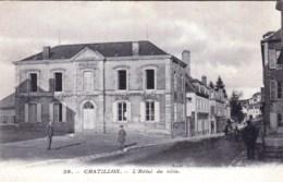 58 - Nievre -  CHATILLON EN BAZOIS  -  L Hotel De Ville - Chatillon En Bazois