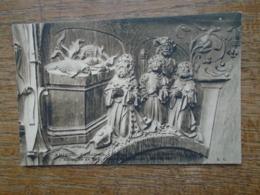 Amiens , Cathédrale , Stalles Du Choeur , Sacrifice De Noé , Paroi De La Stalle , Maitresse - Amiens