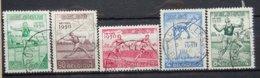BELGIE  1950    Nr. 827 - 831      Gestempeld   CW  50,00 - Belgique