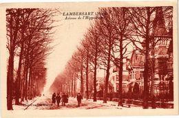 CPA LAMBERSART - Avenue De L'Hippdrom (204643) - Lambersart