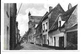 Mechelen - De Kerk Van 't Groot Begijnhof En De Nonnenstraat. - Mechelen