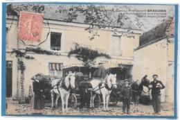 86 . DOMINE Commune De NAINTRE - RESTAURANT BRAGUIER . - AU RENDEZ VOUS DES FORAINS  1906 - France
