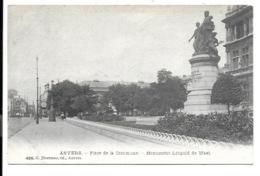 Antwerpen - Place De La Commune - Monument Léopold De Wael.(Hermans 490). - Antwerpen