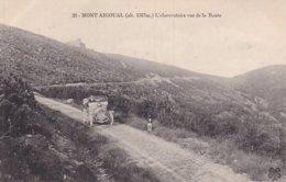 Mont Aigoual L'observatoire Vue De La Route - France